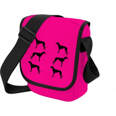 Skuldertaske, pink